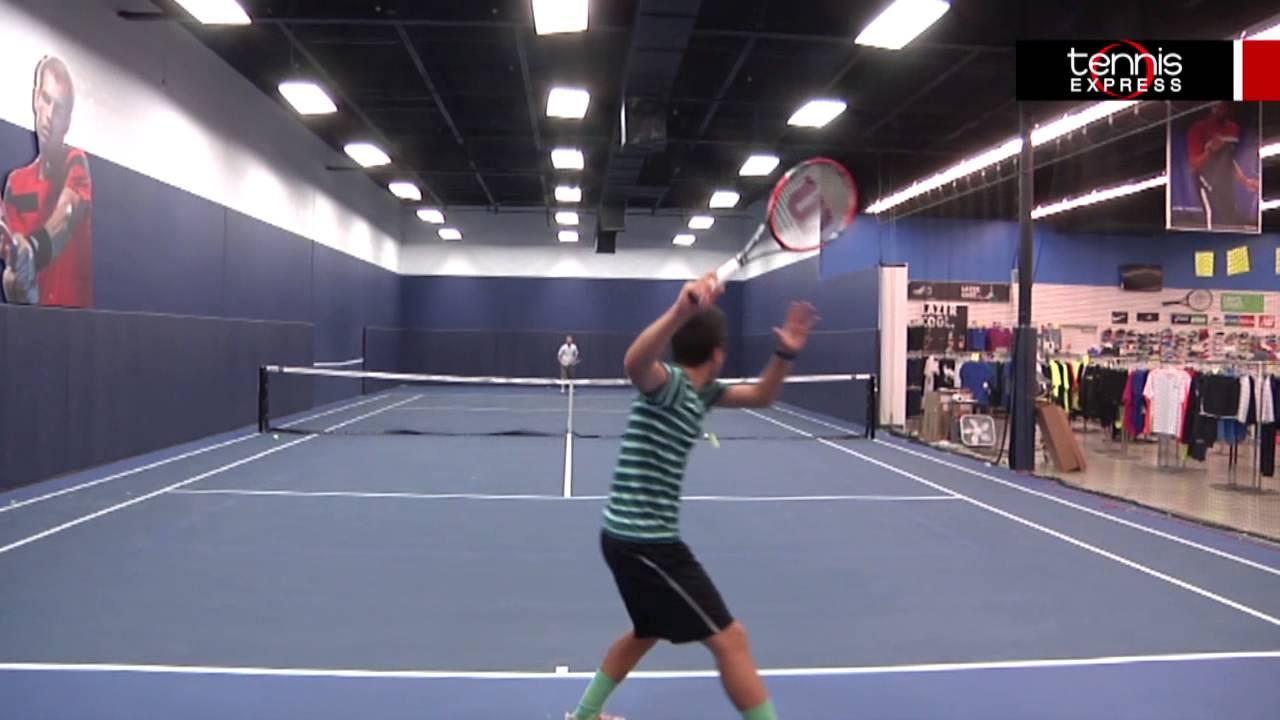 Wilson Pro Staff 97 Racquet Review Tennis Express Youtube