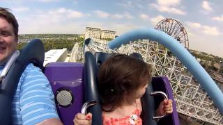 8 Year-Old Rides California Screamin' for first time