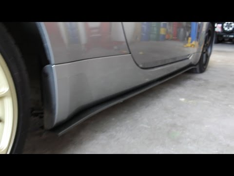 How To Install Side Skirts / Splitters DIY