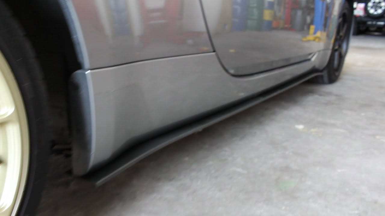 How To Install Side Skirts Splitters Diy Youtube