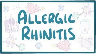 Allergic Rhinitis   Causes, Symptoms, Diagnosis, Treatment, Pathology