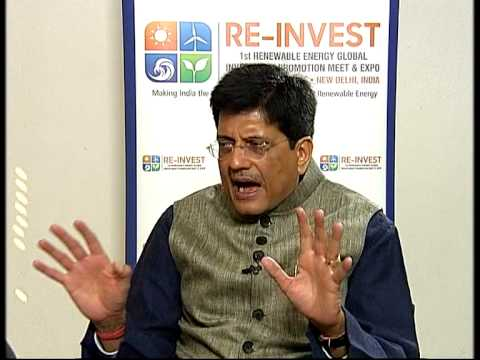 Interview with Union Power Minister Piyush Goyal