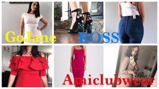 TRY-ON Haul AmIclubwear, Gojane & Ross  | Compras de ROPA DE ROSS
