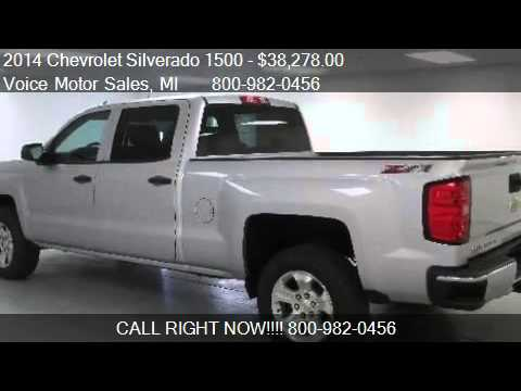 2014 chevrolet silverado 1500 lt for sale in kalkaska for Voice motors kalkaska michigan