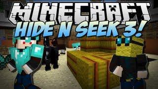 Minecraft | HIDE N SEEK 3! (NEW Animal Village Map!) | Minigame