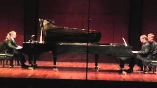 Stravinsky, Sonata for Two Pianos, II. Theme with Variations