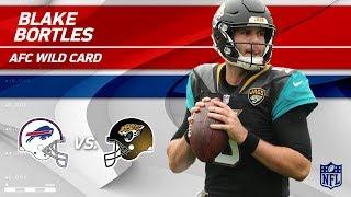 Blake Bortles NFL Playoffs Debut Highlights! | Bills vs. Jaguars | Wild Card Player HLs