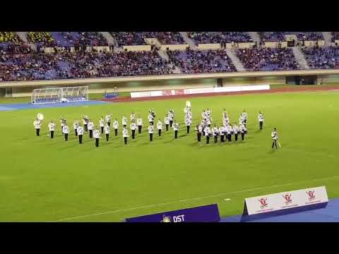 HBT 2018 Final - Half Time Show Performed By RBPF Band 5-5-2018