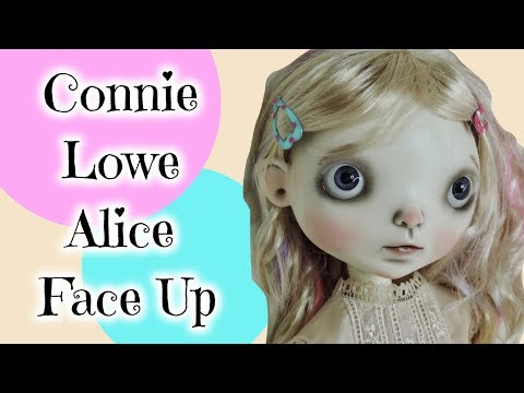 BJD Face Up on Connie Lowe Alice Doll