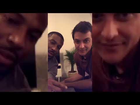 Rob Riley Teaches Dynasty Costar James Mackay Instagram Live