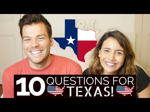 Questions for Texans! 🇺🇸| What do British People Think About Texas?