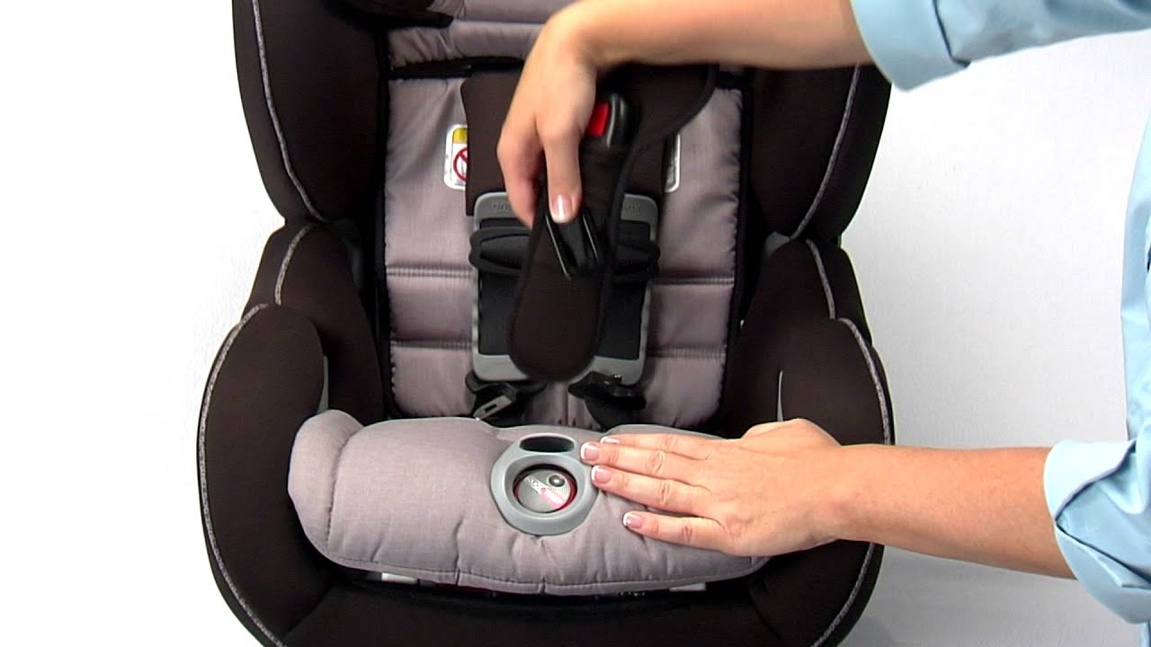 ClickTight Convertibles Adjusting The Buckle Position Britax Child