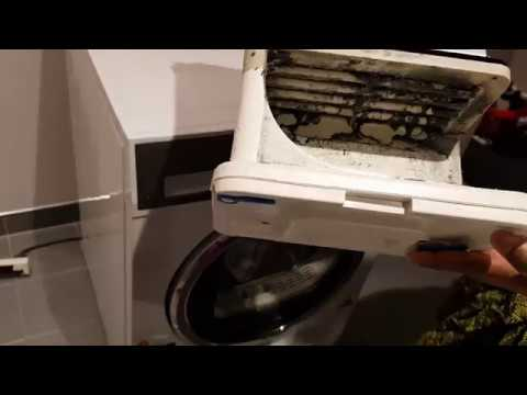 Cleaning Condenser Of 8 KG Fisher & Paykel Dryer.