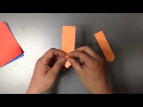 How To Make A Origami Train Of Cargo