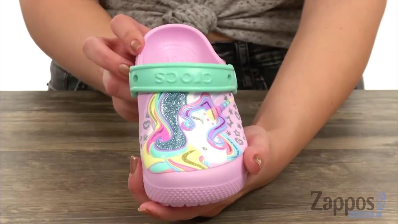 Crocs Kids FunLab Unicorn Clog (Toddler