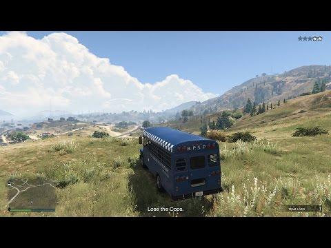 Grand Theft Auto V Online Heist 2 - Prison Break Setup 2 (Hijack the Prison Bus)