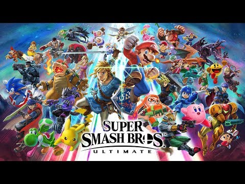 Super Smash Bros. Ultimate - Challenger Approaching Intro Video - Nintendo Switch
