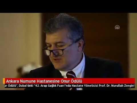 Ankara Numune Eğitim Ve Araştırma Hastanesine Onur ödülü Youtube