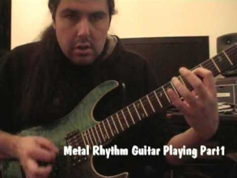Metal Rhythm Guitar Playing Part1 | Lick of the Week 18