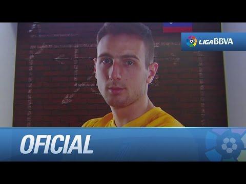 Debut de Oblak en Liga BBVA con el Atlético de Madrid