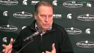 Tom Izzo Season Recap Press Conference: 4-9=2015