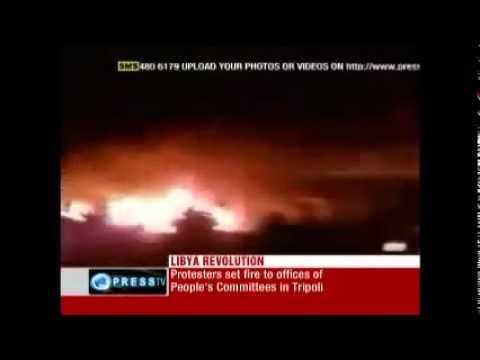 Lybia Revolution 'Massacre unfolding in Libyan capital Tripoli'