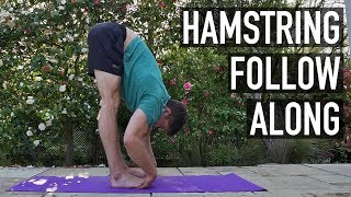 15 Minute Hamstring Flexibility Routine (FOLLOW ALONG)