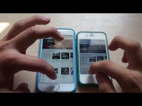 iPhone 6 vs iPhone 4S I Speed Test! I Porównanie I Apple
