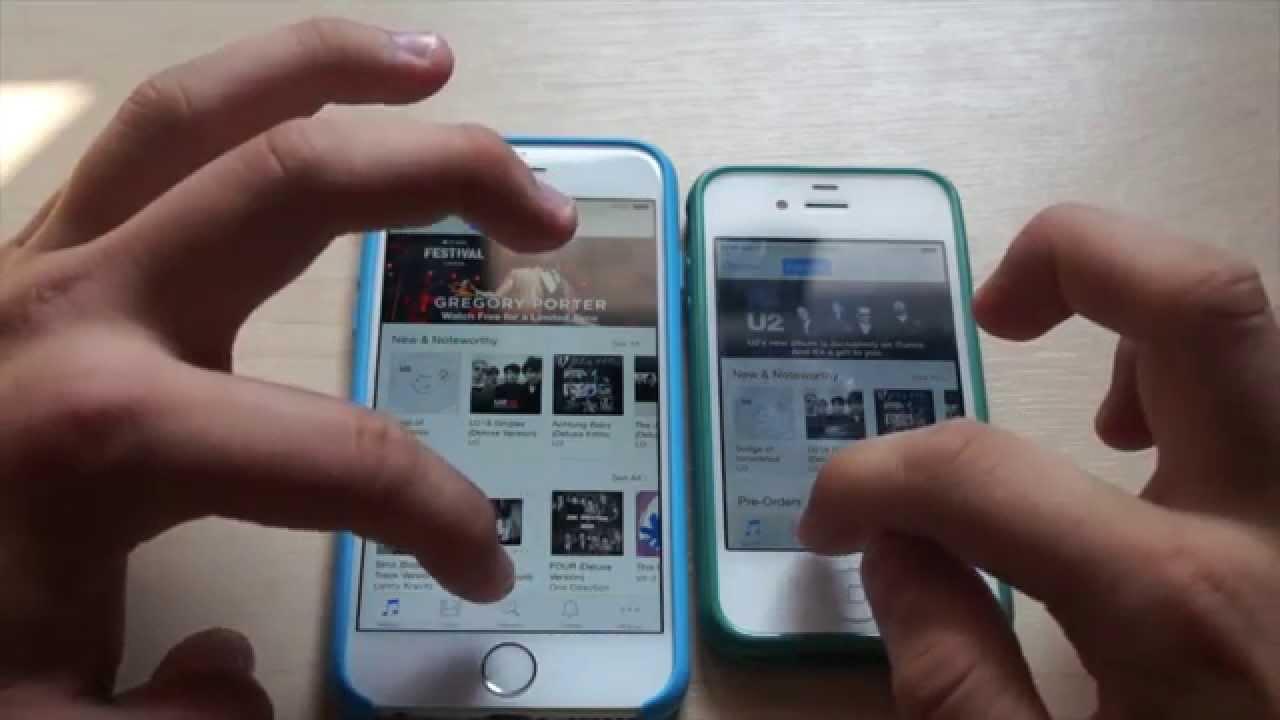 IPhone 6 Vs 4S I Speed Test Porownanie Apple