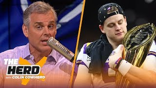 Burrow should 'pull an Eli' with Bengals, Colin thinks Diggs solves Pats' WR issues   NFL   THE HERD