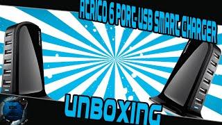 Baixar ATRICO  Rapid-Charging 6-port desktop usb charger Unboxing