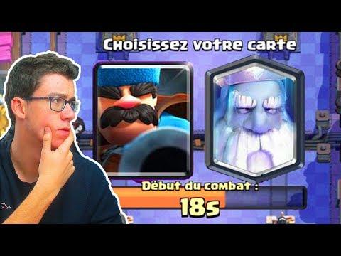 Clash Royale CHOIX DIFFICILE ! DEFI MISE A JOUR !