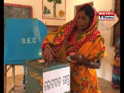 2nd Phase Panchayat Election Voting Completed In Angul District: Metro TV Bureau