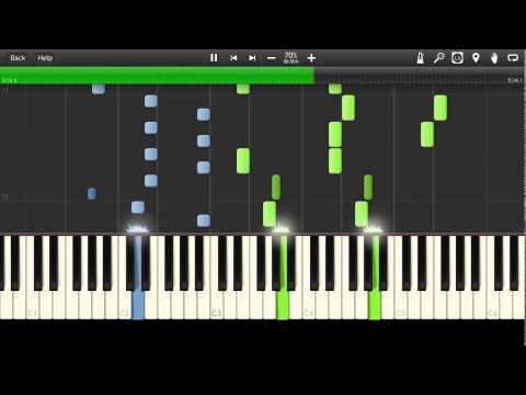Alexandre Desplat  New Moon The Meadow Synthesia Tutorial