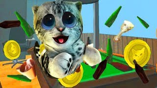 Играем в СИМУЛЯТОР КОТА приключение мульт игра про кошек и собак развлекательное видео для детей