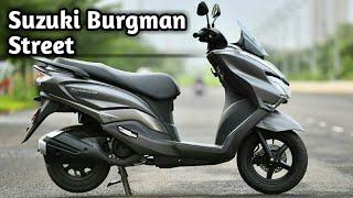Suzuki Burgman Street 125 India Price Top Speed Mileage 2019   Tech With Sid