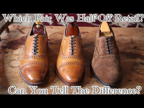 STUCK AT HOME? MY 3 TIPS TO FINDING & IDENTIFYING QUALITY SHOES ONLINE: 2 FOR THE PRICE OF 1