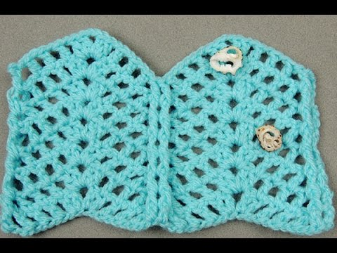 Crochet: Punto Zig Zag # 6 - YouTube