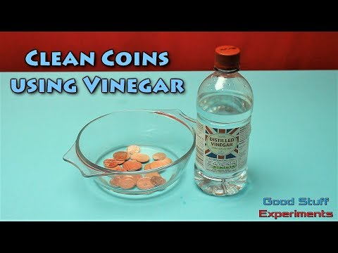 How to Clean Coins with Vinegar