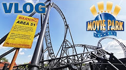 MOVIE PARK GERMANY🎬📽 Vlog August 2019 | SCHÖNER Tag mit HINDERNISSEN😓 | Movie Park Bottrop
