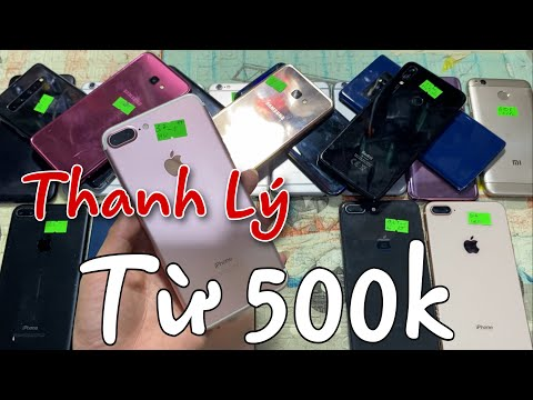Thanh Lý chỉ từ 500k mua cho bé học Online: iPhone 6s 1.300k, 7+ qt 3.300k, 8+ 4.100k, Samsung Note8