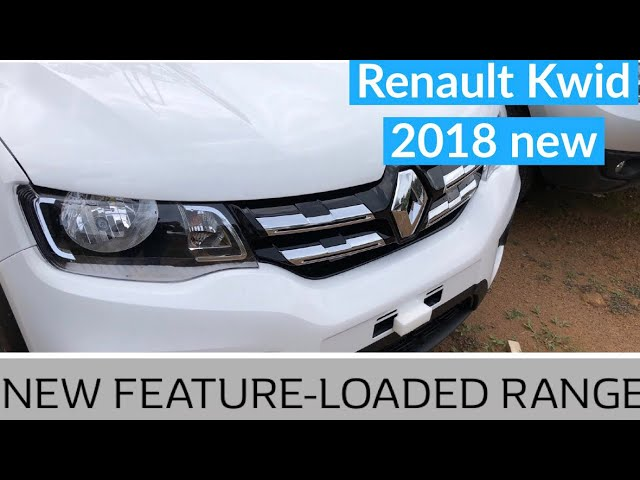 New Renault Kwid 2018 With Updated Features