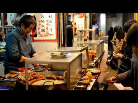 Hong Kong Street Food. Stall in Tsim Sha Tsui, Kowloon. Dai Pai Dong
