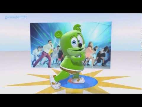 Gangnam Style PSY - Gummy Bear   (HD)