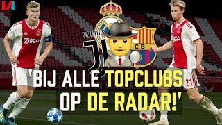 De Ligt & De Jong Blijven Ajax Trouw! 'Nu Stunten in de Champions League'