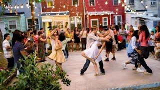 Сальса флэшмоб видео  Флэшмоб танцующих сальсу
