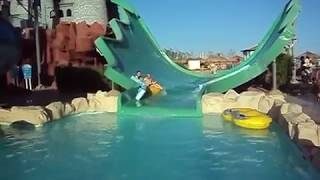 Aqua Blu Sharm, fab waterslides, great hotel.