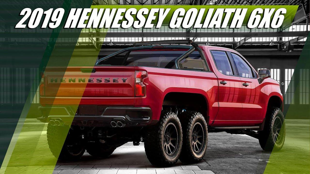 2019 Hennessey Goliath 6x6 Chevrolet Silverado Trail Boss Z71 Youtube