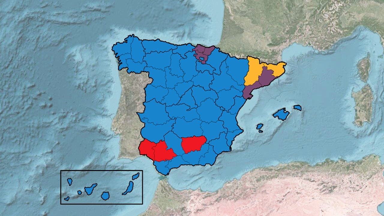 Spanish General Election Results (1977-2016) - YouTube