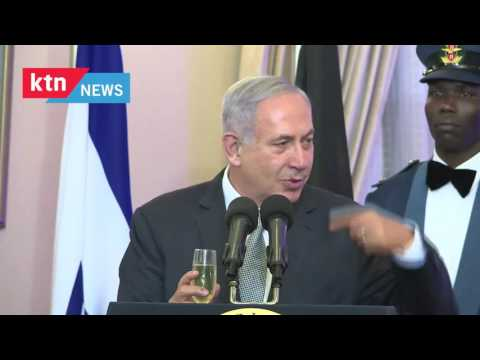 Israeli Prime Minister Benjamin Netanyahu apologizes to Kenyans for causing trouble on the roads